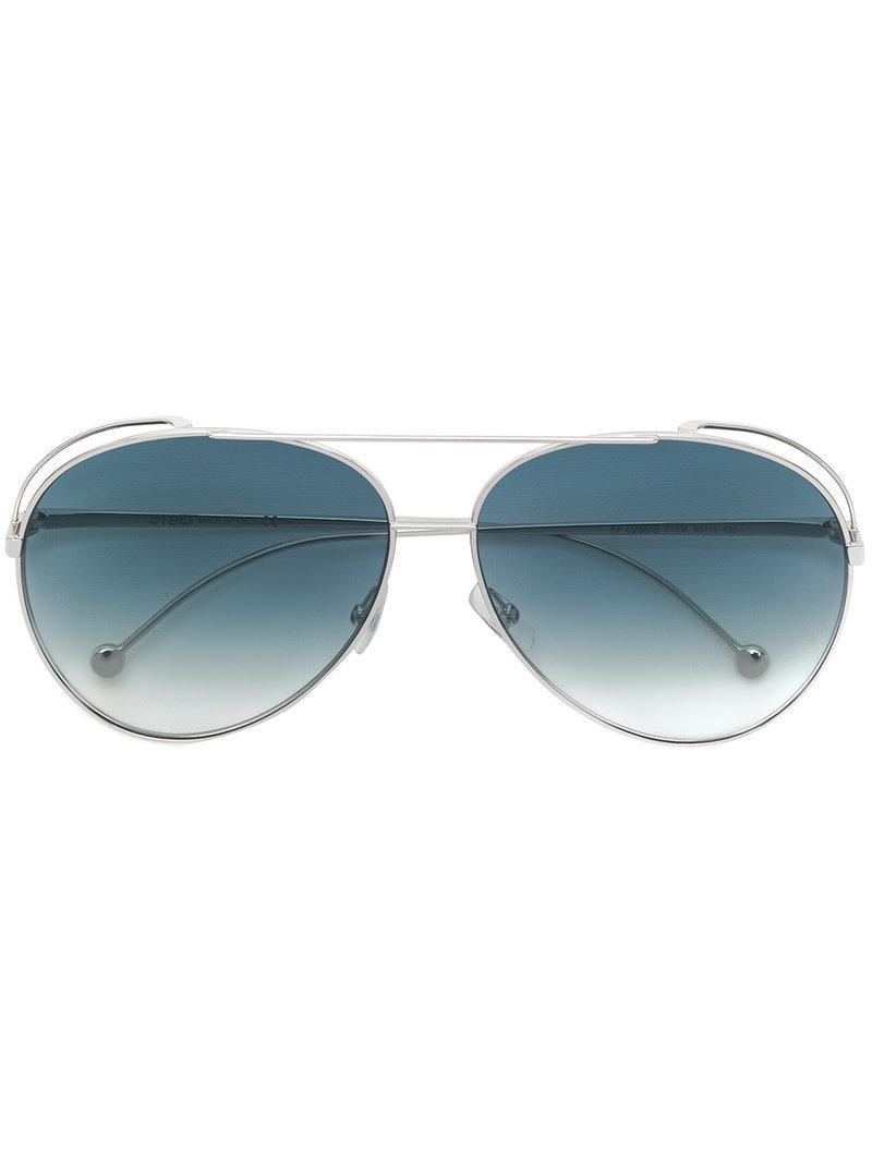 Huir Gafas De Sol - Fendi Metálica 8NmKswJF6
