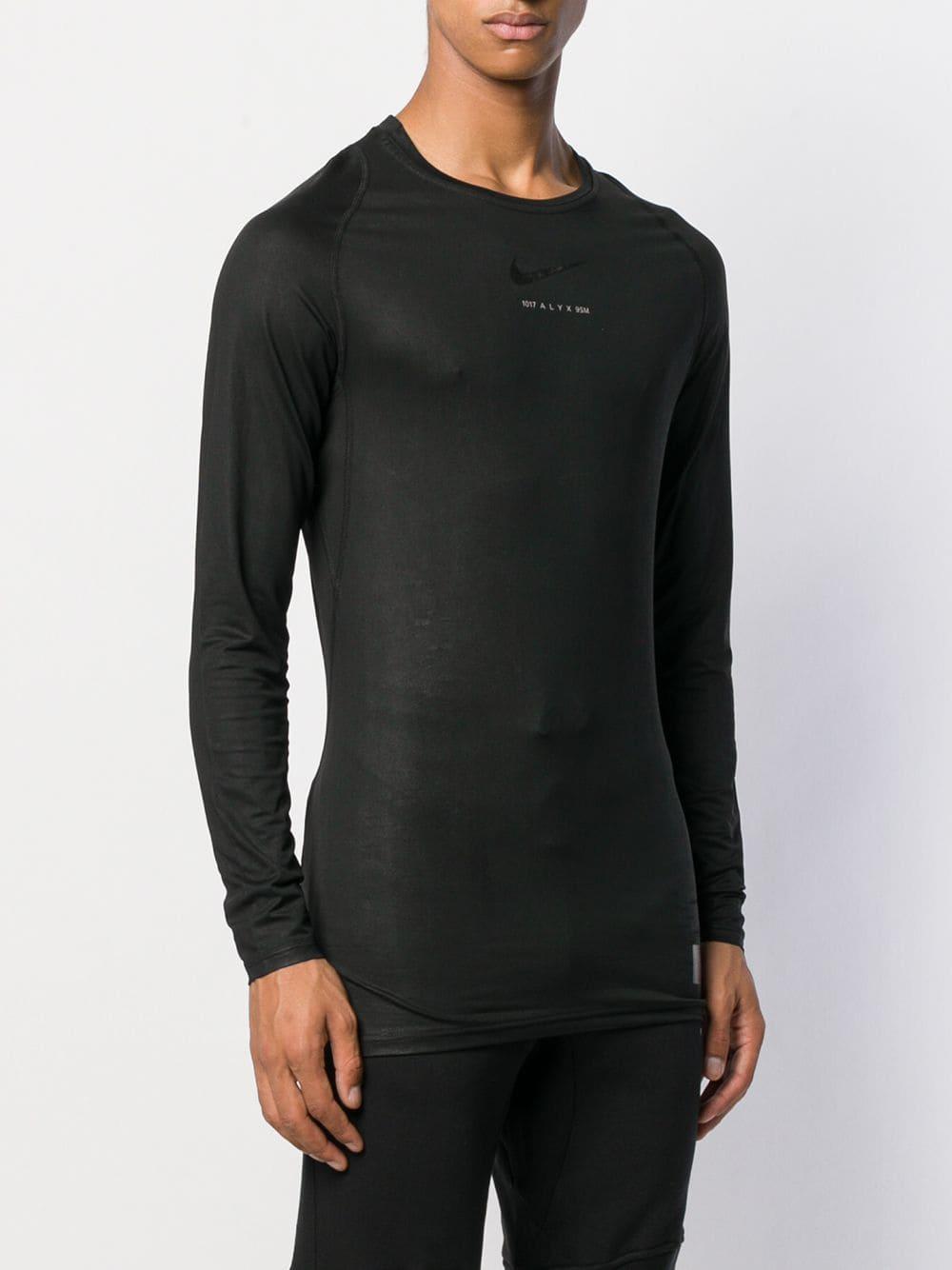 1017 ALYX 9SM Synthetisch Sweater Met Logo in het Zwart voor heren