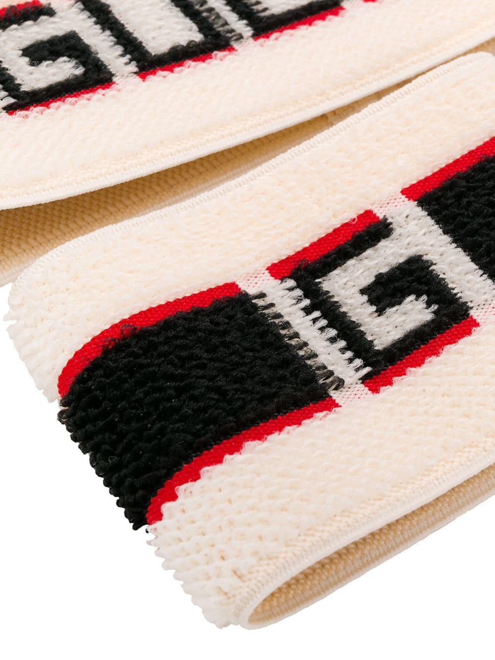 e49de209b1c Lyst - Gucci Elastic Stripe Headband for Men