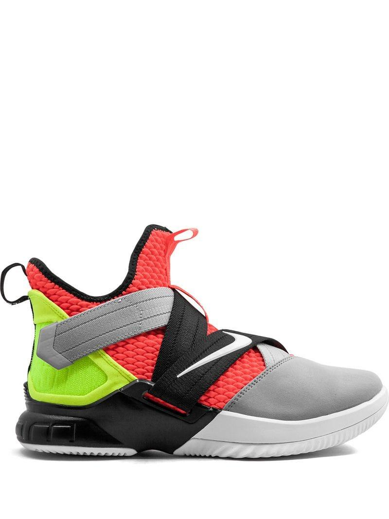 Lyst - Nike Lebron Soldier 12 Sfg Hi-top Trainers in Red for Men 588e5ff0c
