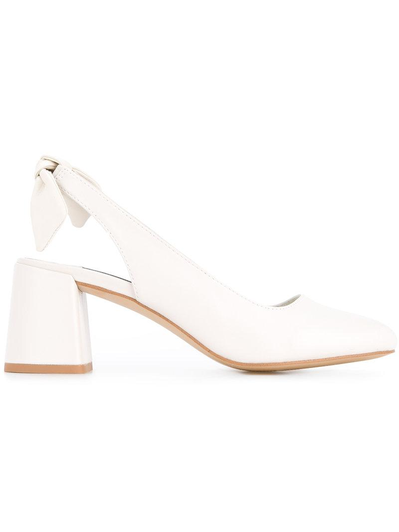 Senso Leather Slingback Block Heel