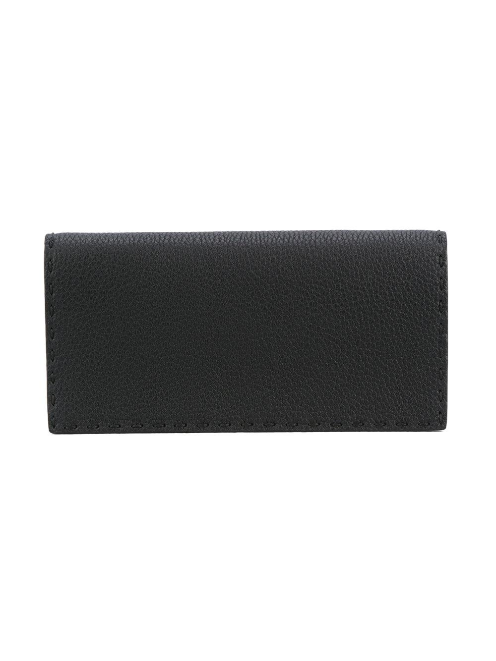 Fendi - Black Portefeuille Selleria for Men - Lyst. Afficher en plein écran c7a2d812ce6