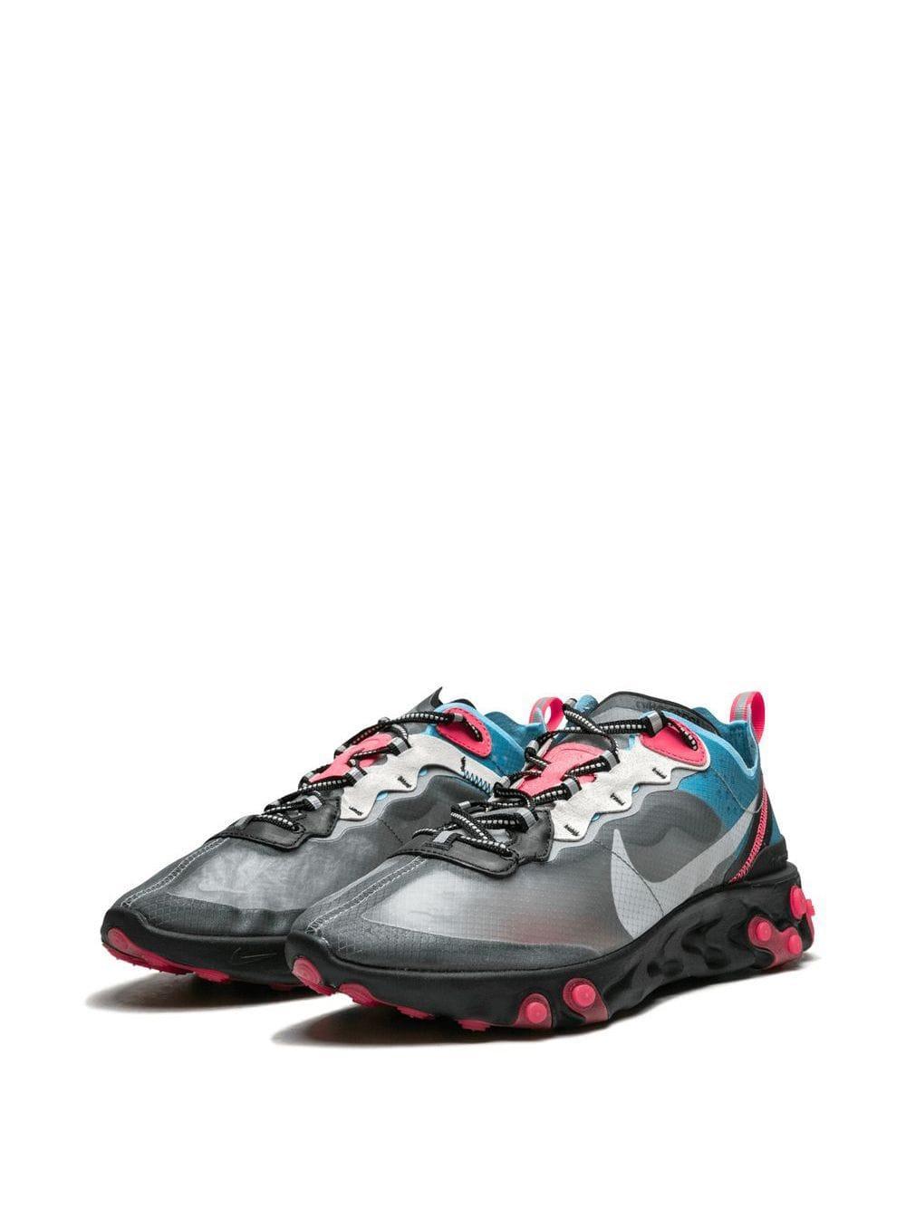Zapatillas React Element 87 Nike de Tejido sintético de color Gris para hombre