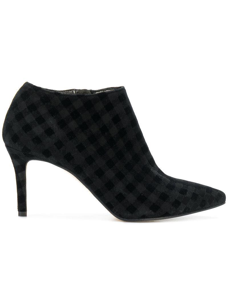 MARC ELLIS Checked ankle boots QAeTB