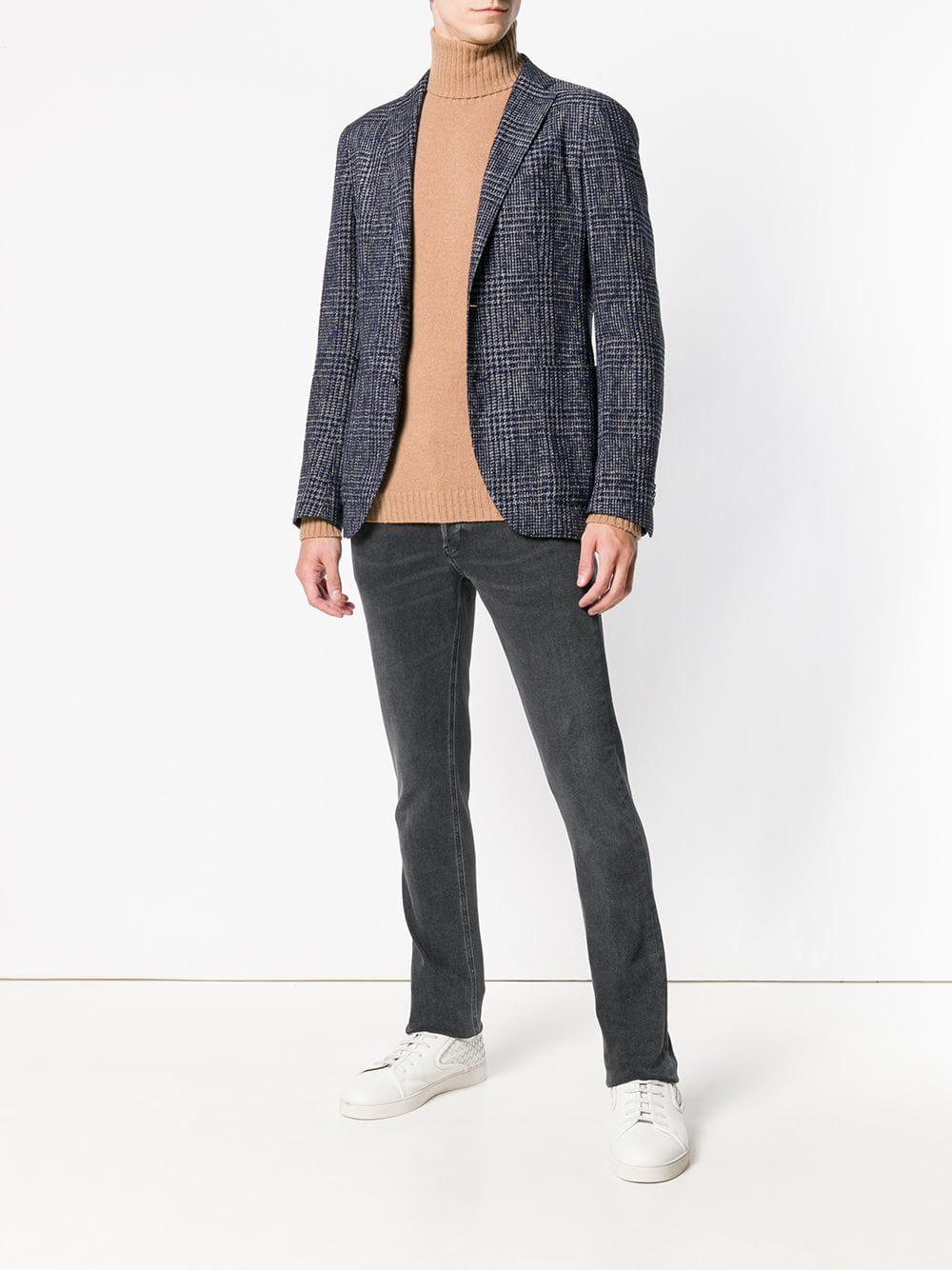 Dondup Cotton George Skinny Jeans in Black for Men