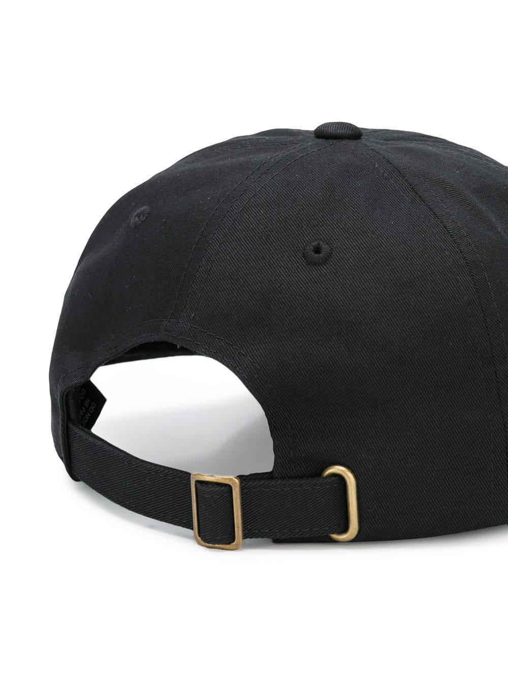 Lyst - Gorra con logo Stussy de hombre de color Negro ... 7ac89fa9850