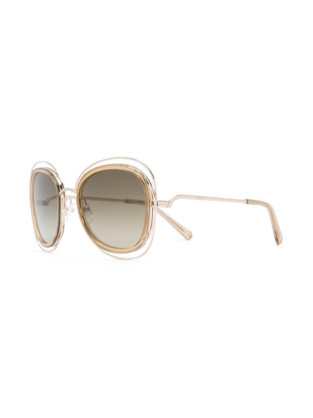 Chloé Poppy Oversized Sunglasses