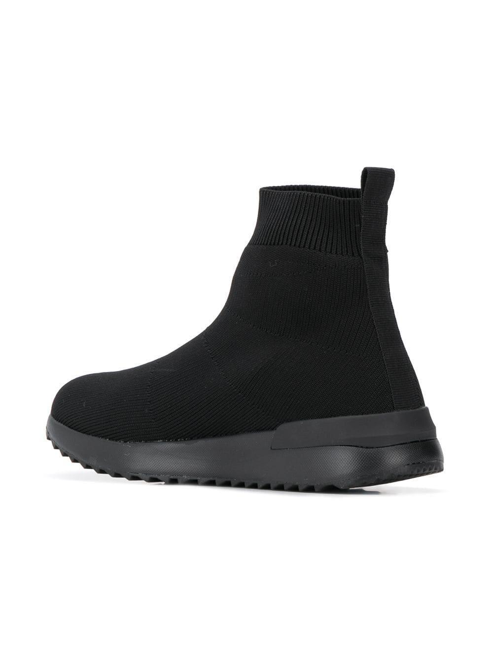 Versace Jeans Black Sock Sneakers
