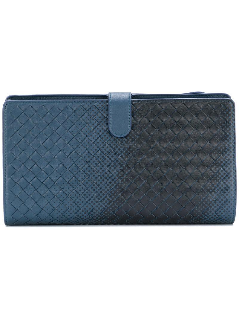 Discount Marketable denim Intrecciato nappa multifunctional case - Blue Bottega Veneta Buy Cheap The Cheapest 5j28yLh
