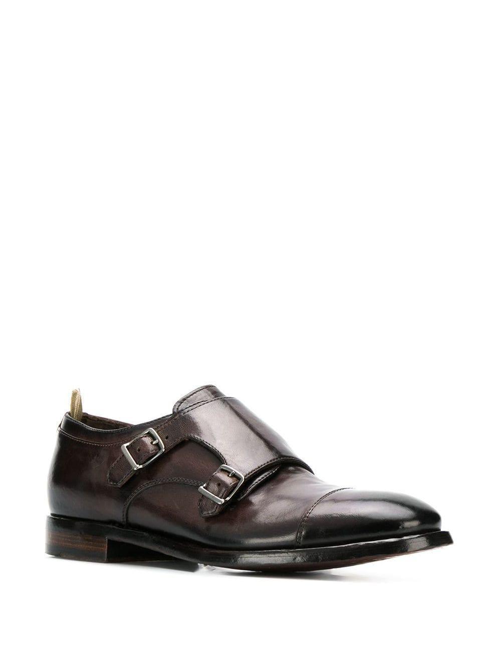 Zapatos monk con hebillas Emory Officine Creative de Cuero de color Marrón para hombre