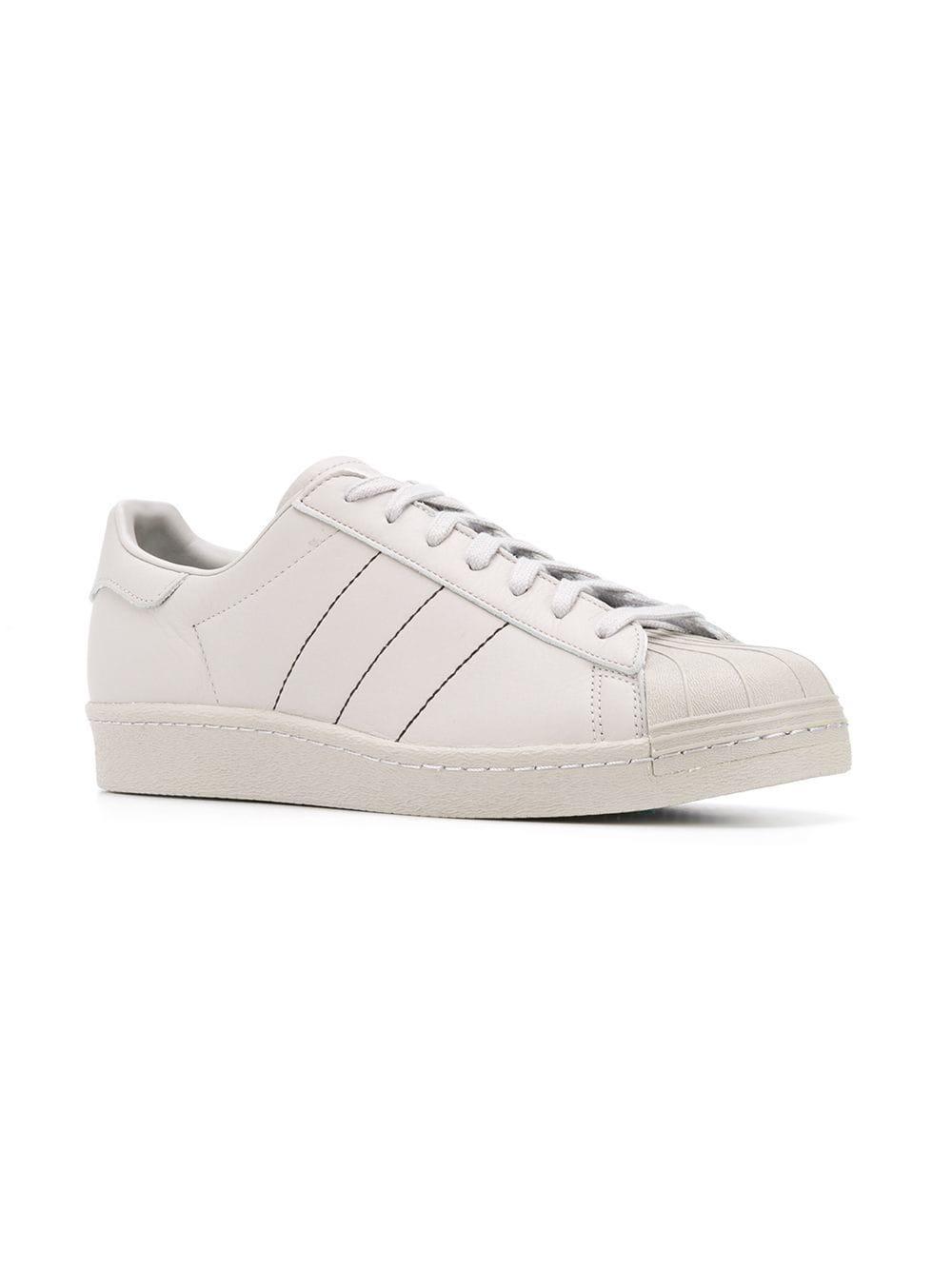 bebb3a7ab99ee Adidas - Gray Originals Superstar Sneakers for Men - Lyst. View fullscreen