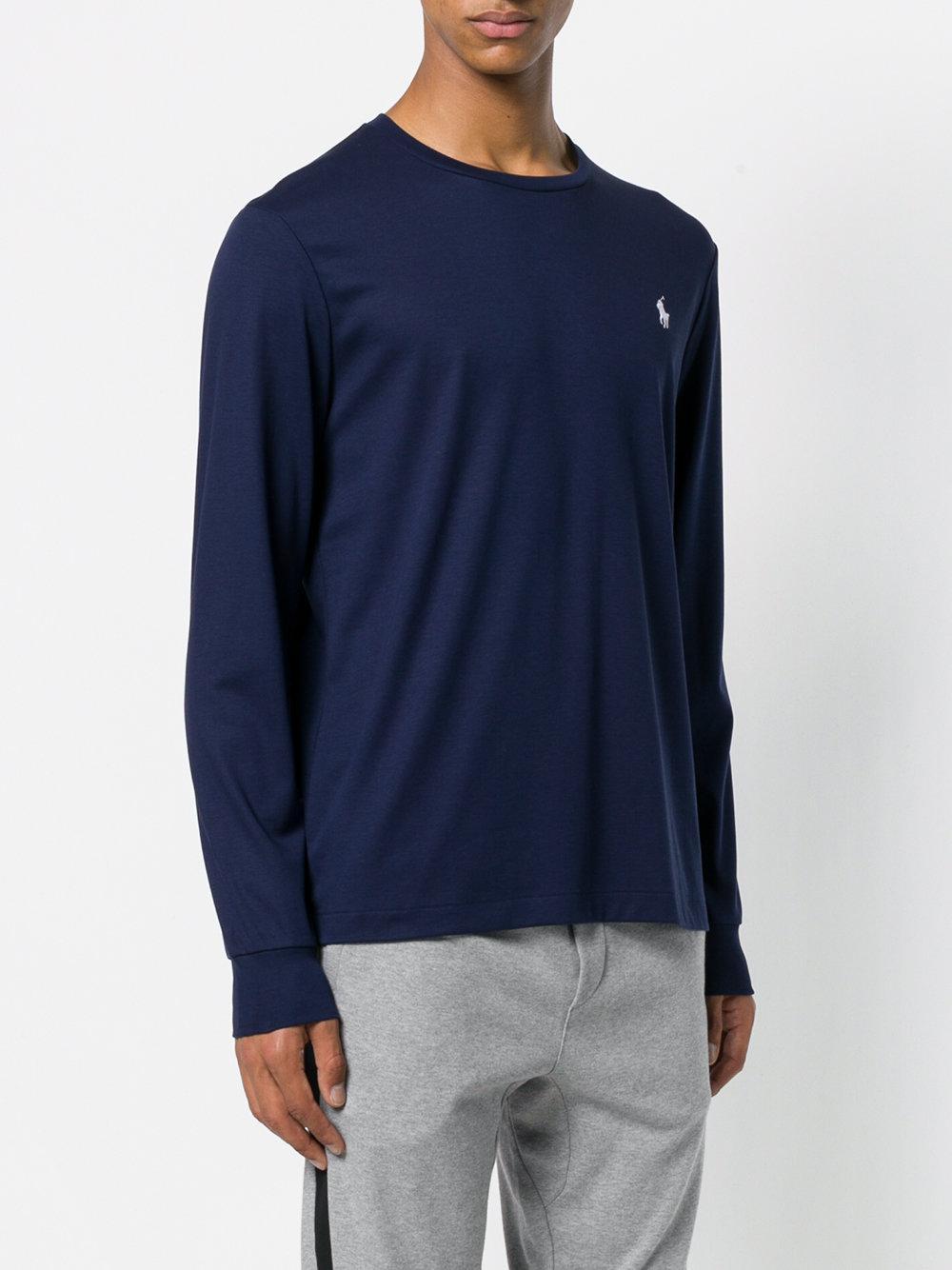 Lyst - Camiseta con logo bordado Polo Ralph Lauren de hombre de ... d01f2264590