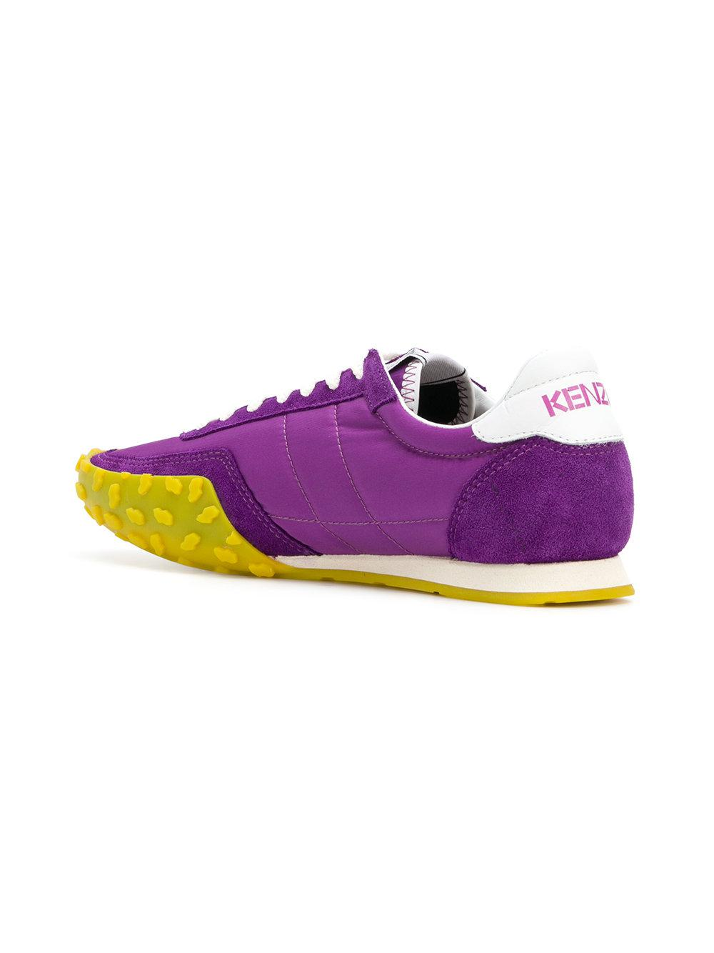 af97943e5d7 KENZO Move Sneakers in Purple - Lyst