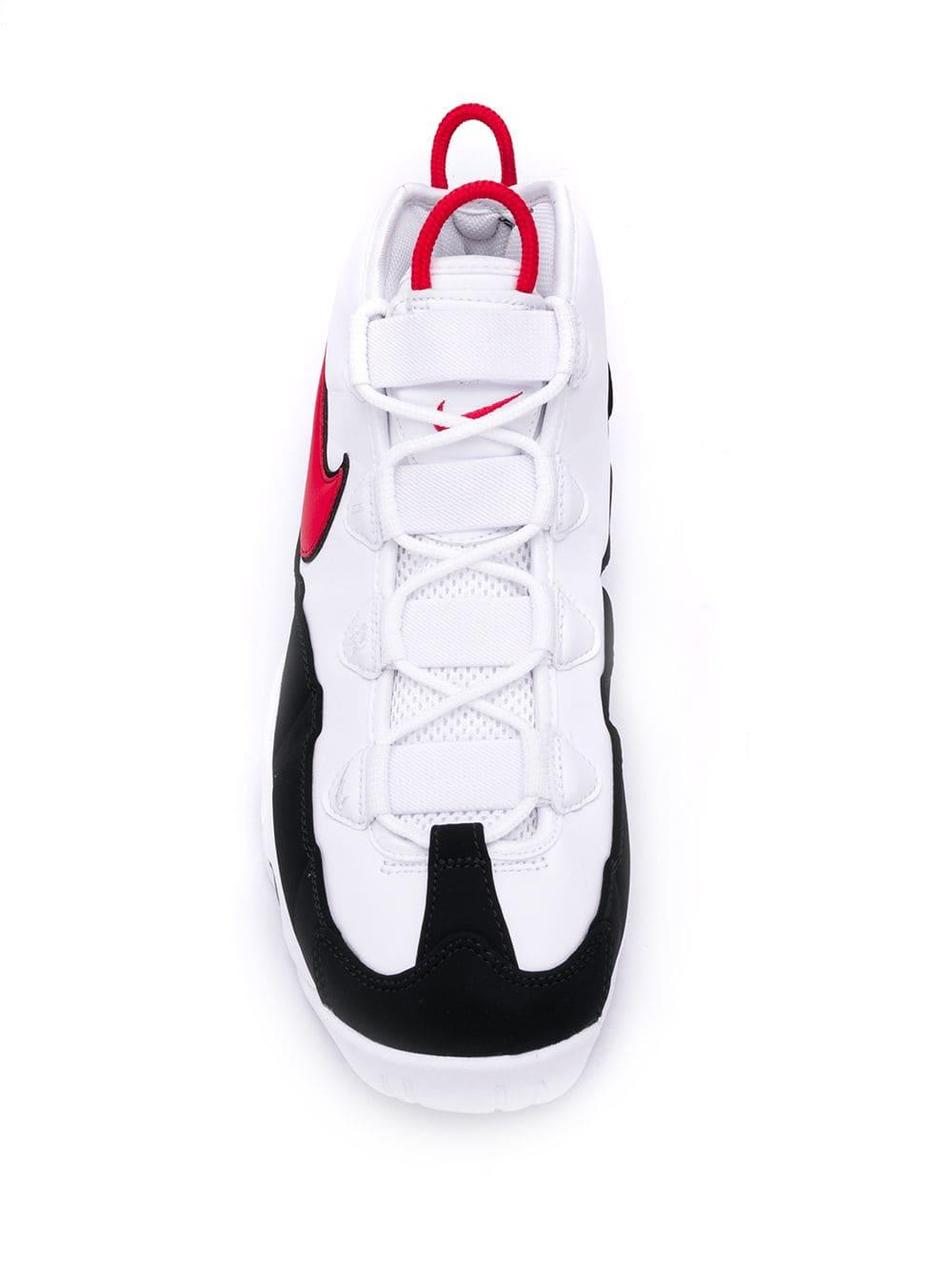 Nike Synthetic Air Max Uptempo '95 in White/Red (White) for Men - Lyst