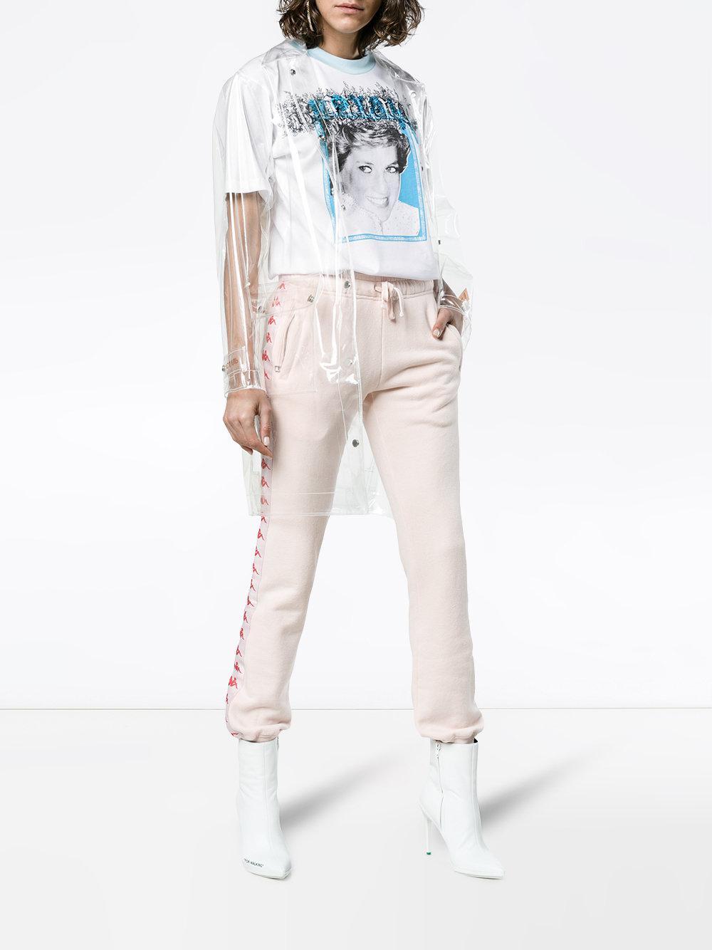 ec38658b Off-White c/o Virgil Abloh Tribute 1 Princess Diana T-shirt in White - Save  57% - Lyst
