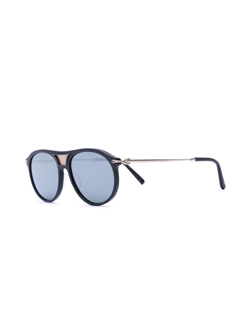 001c5be003168 matsuda-Black-Aviator-Sunglasses-With -Detachable-Leather-Side-Shield-Clip.jpeg