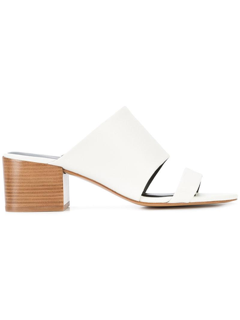 3.1 Phillip Lim Cube Double Strap Sandals DbTHwRu