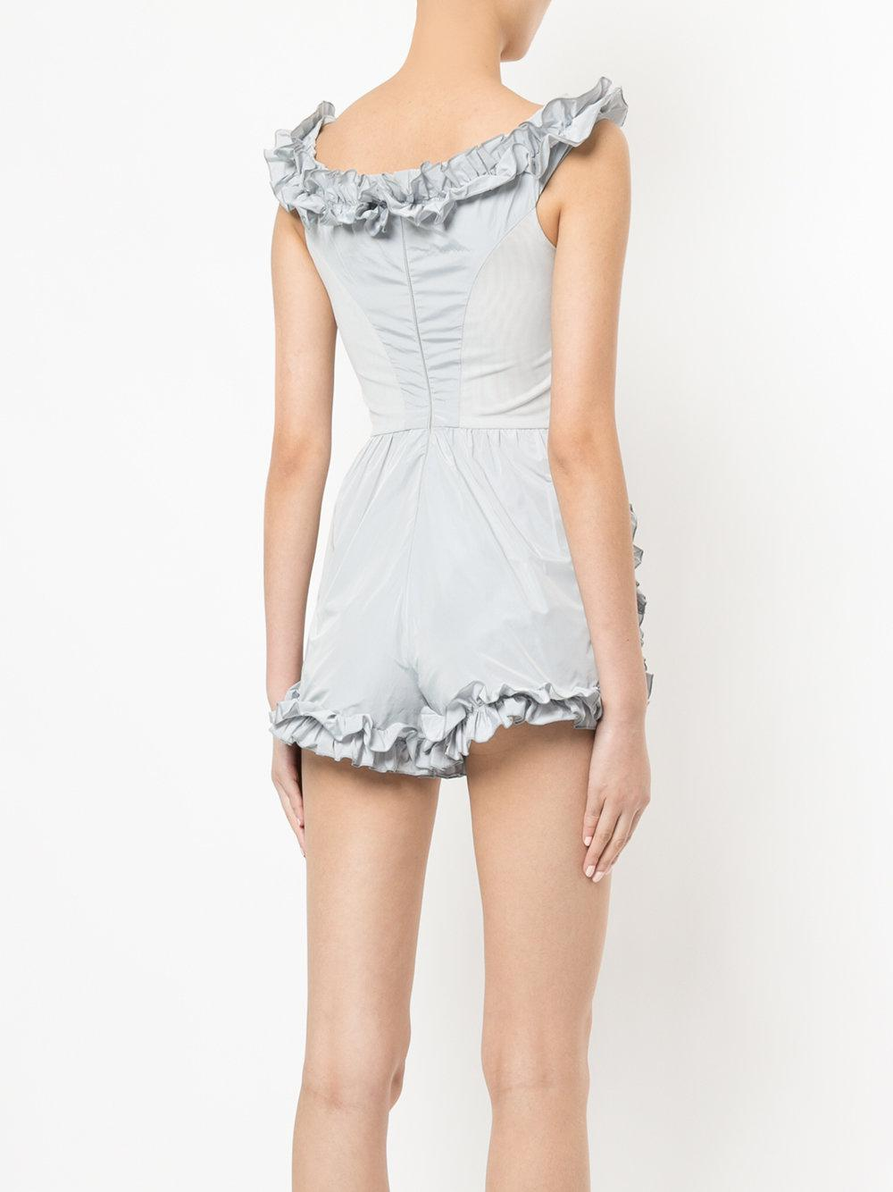 e64d95242c Alice McCALL Stuck On You Playsuit in Gray - Lyst