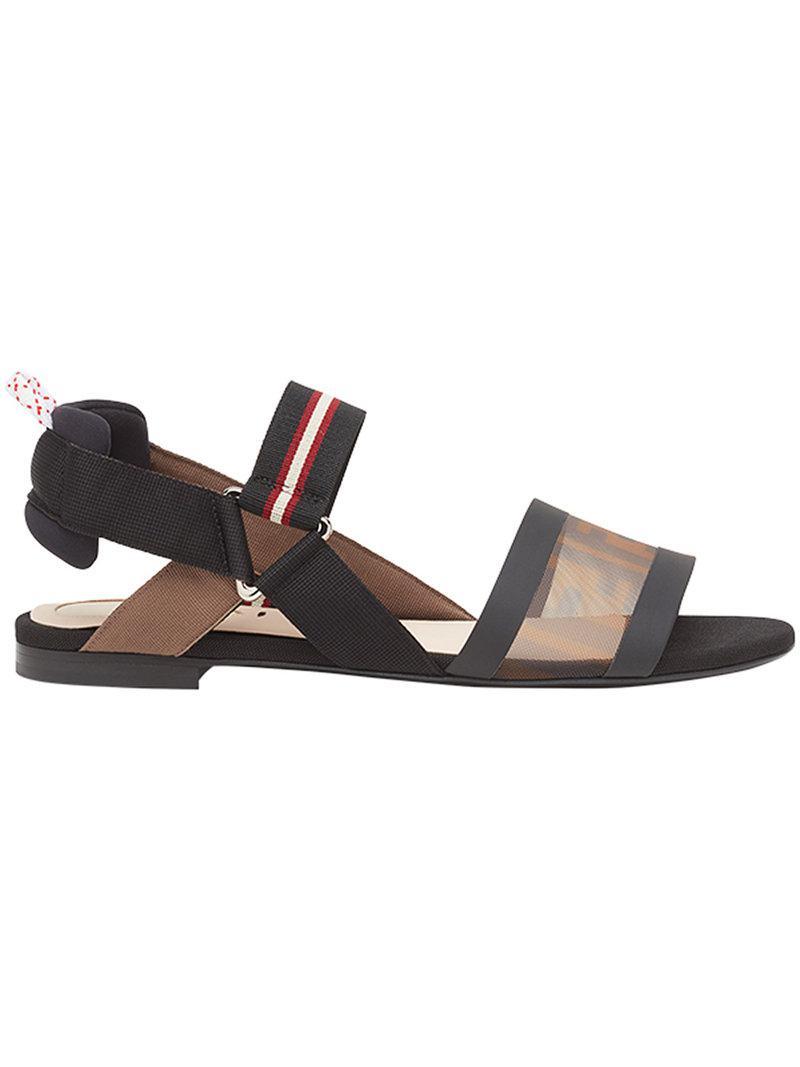 Colibr�� sandals - Red Fendi QSJimz6r