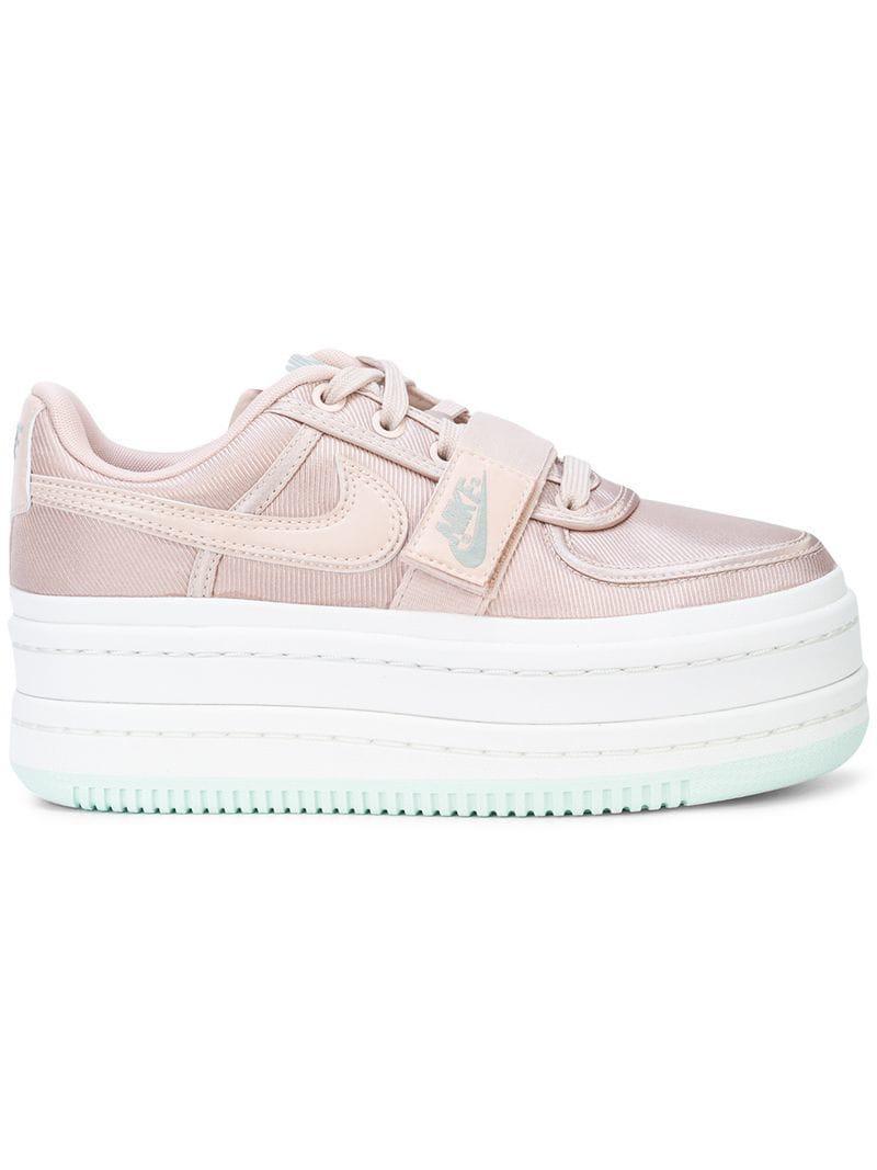 249c87b5c78c ... faux leather trimmed metallic faille platform sneakers pink  nike  vandal 2k womens shoe  nike vandal 2k womens shoe  lyst nike vandal 2k  sneakers in ...