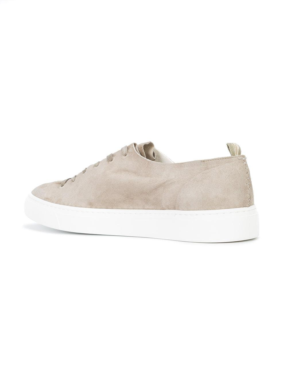 Officine Creative Suede Leggera Sneakers in Grey (Grey)