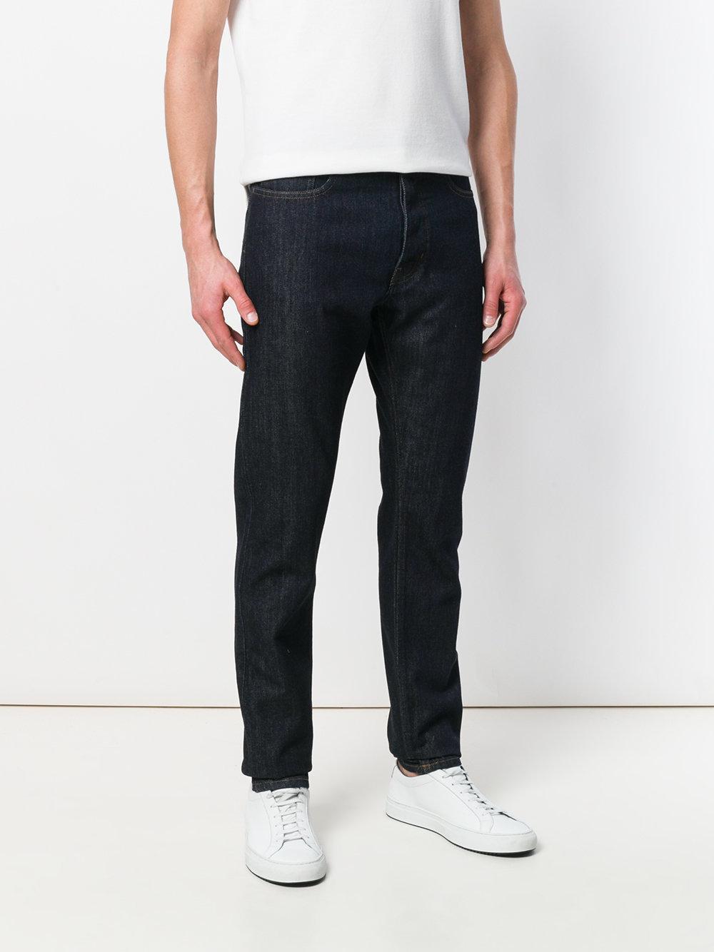 Kent & Curwen Slim-fit Denim Jeans in Blue for Men