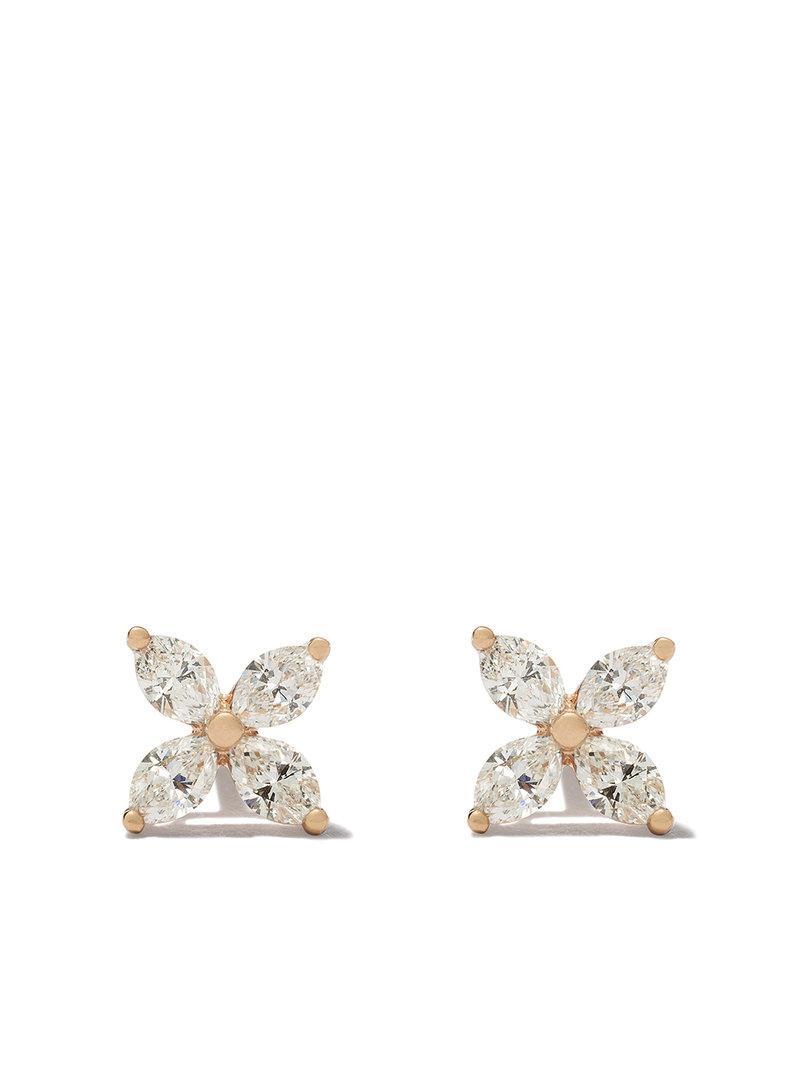 Tiffany & Co. Tiffany Victoria diamond small stud earrings - Metallic qdnnw8