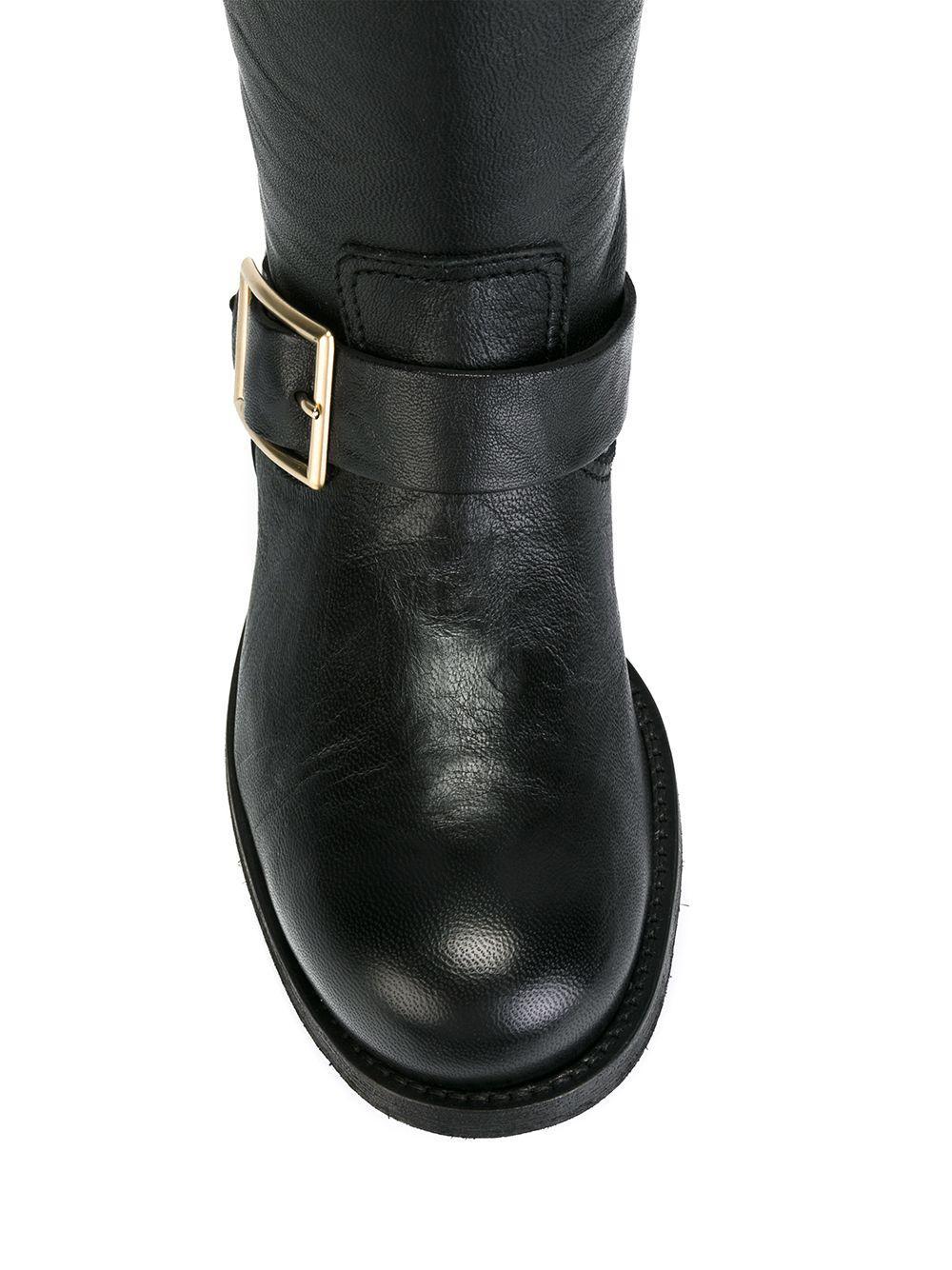 Jimmy Choo 'biker' Boots in Black