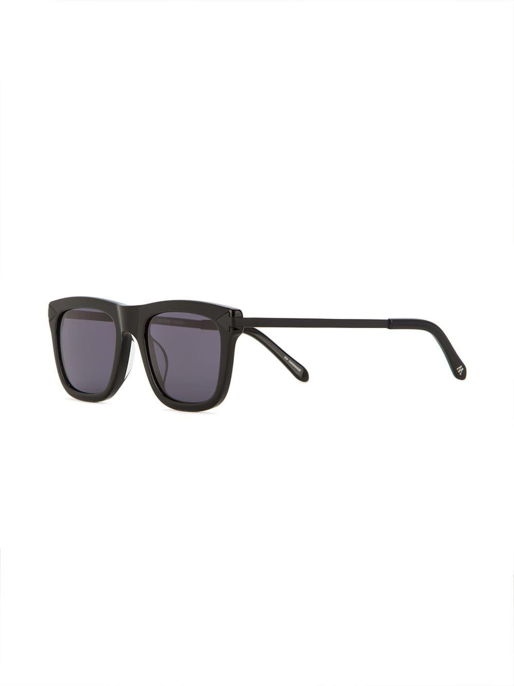 Karen Walker Voltaire Sunglasses in Black