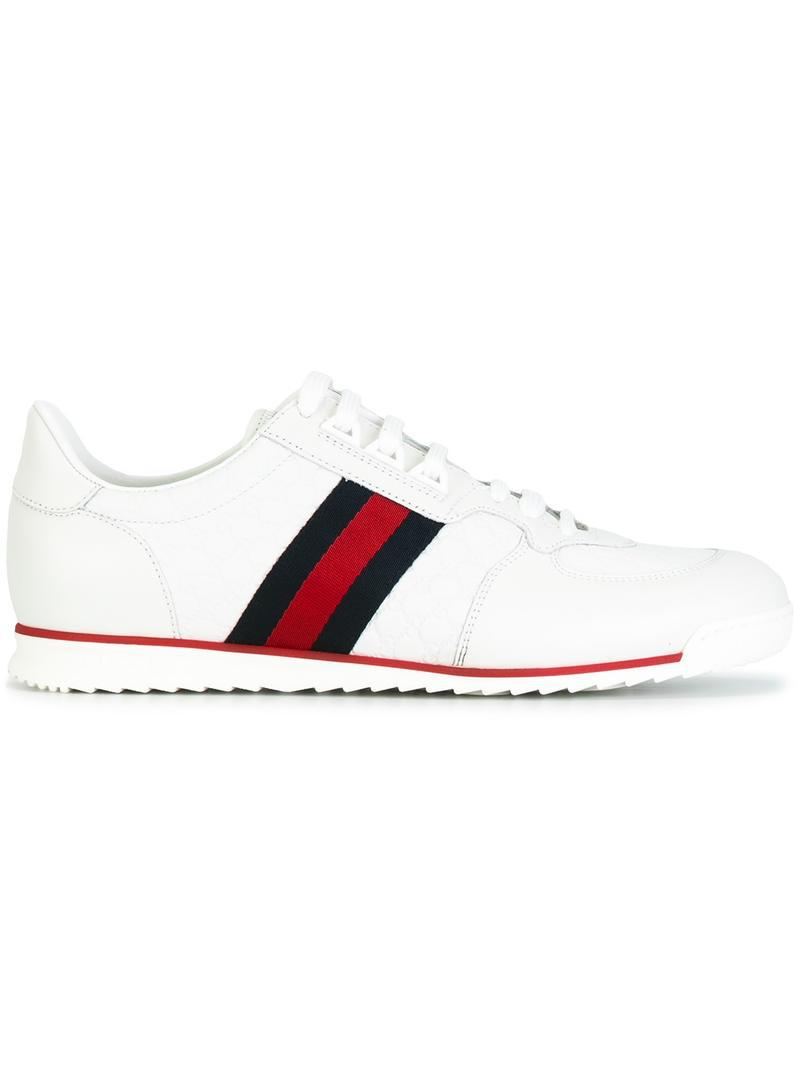 dm1rbR7KevSneakers A9LA0 Microssima leather stripes