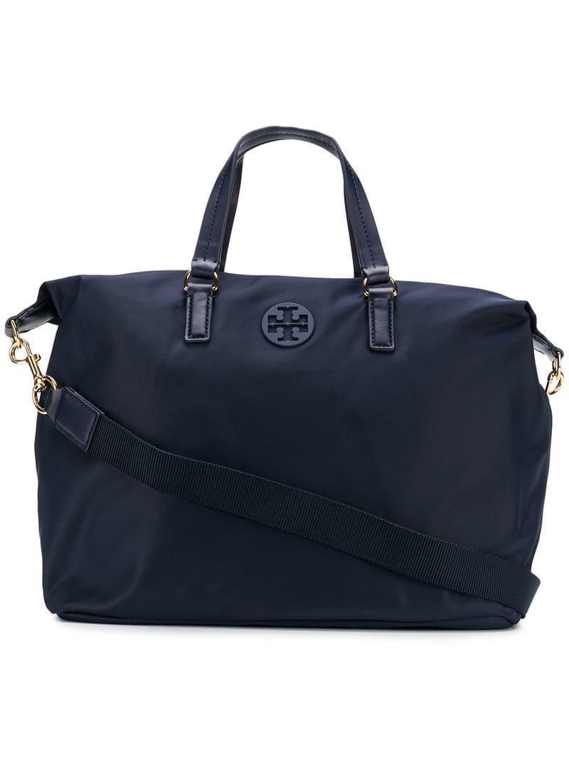 cca6e73ec Tory Burch Tilda Tote Bag in Blue - Lyst