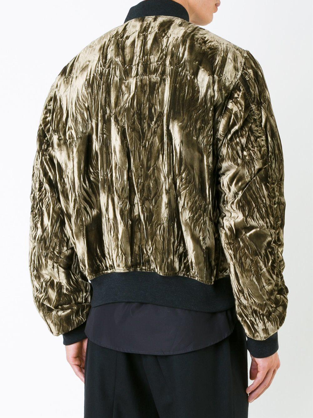 Haider Ackermann 'madame' Jacket in Metallic for Men