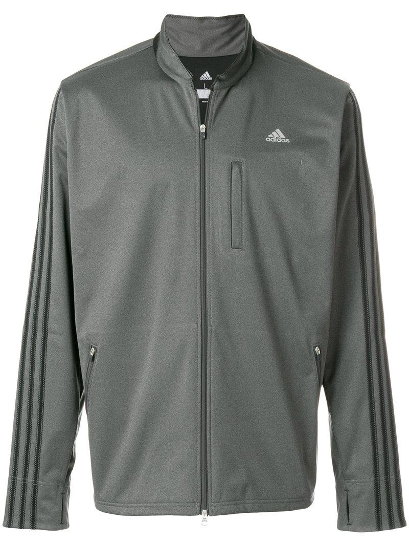 aaff67ed8 Lyst - adidas Originals Zipped Track Jacket in Gray for Men