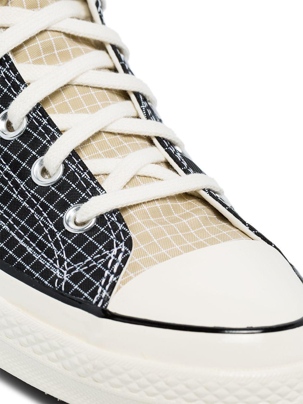 Converse Synthetisch Quad Ripstop High-top Sneakers in het Zwart voor heren
