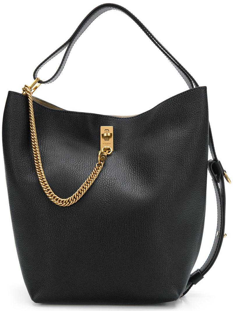 Sac Noir Gv En Lyst Seau Coloris Givenchy HxZMwAdqdf