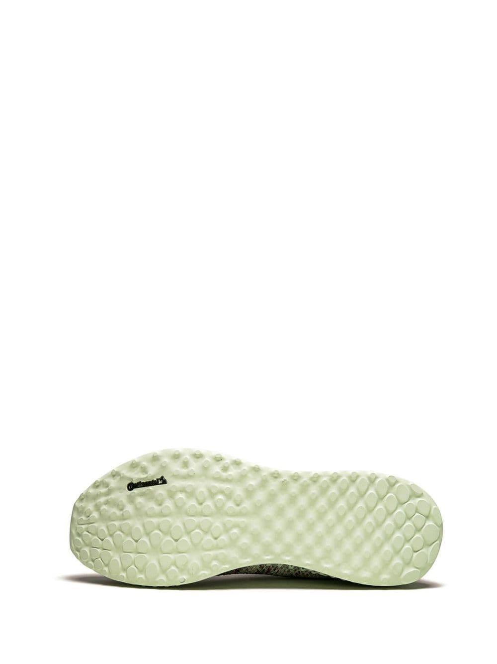 Zapatillas Consortium Runner KITH 4D adidas de Tejido sintético de color Rojo para hombre