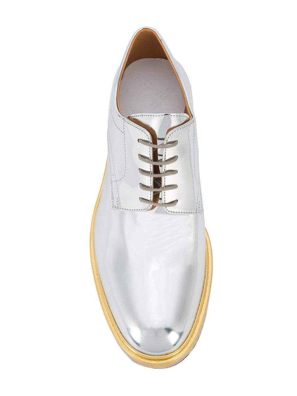 Free Shipping Cheapest mirror derby shoes - Metallic Maison Martin Margiela Pre Order Online yRmQVMv