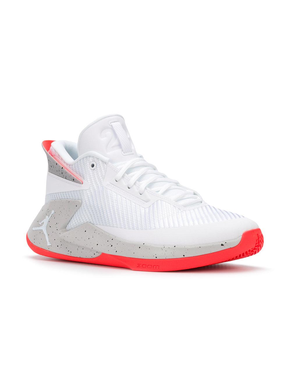 c0b6d3c8a1c Nike Jordan Fly Lockdown Trainers in White for Men - Lyst