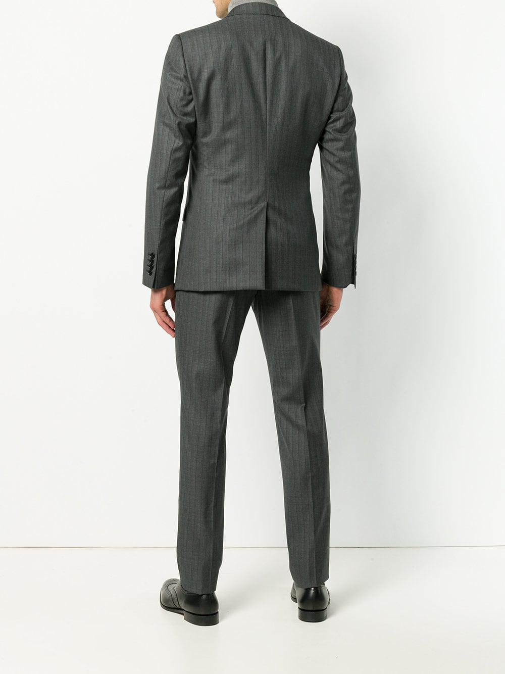 Dolce & Gabbana Wol Tweedelig Pak in het Grijs voor heren