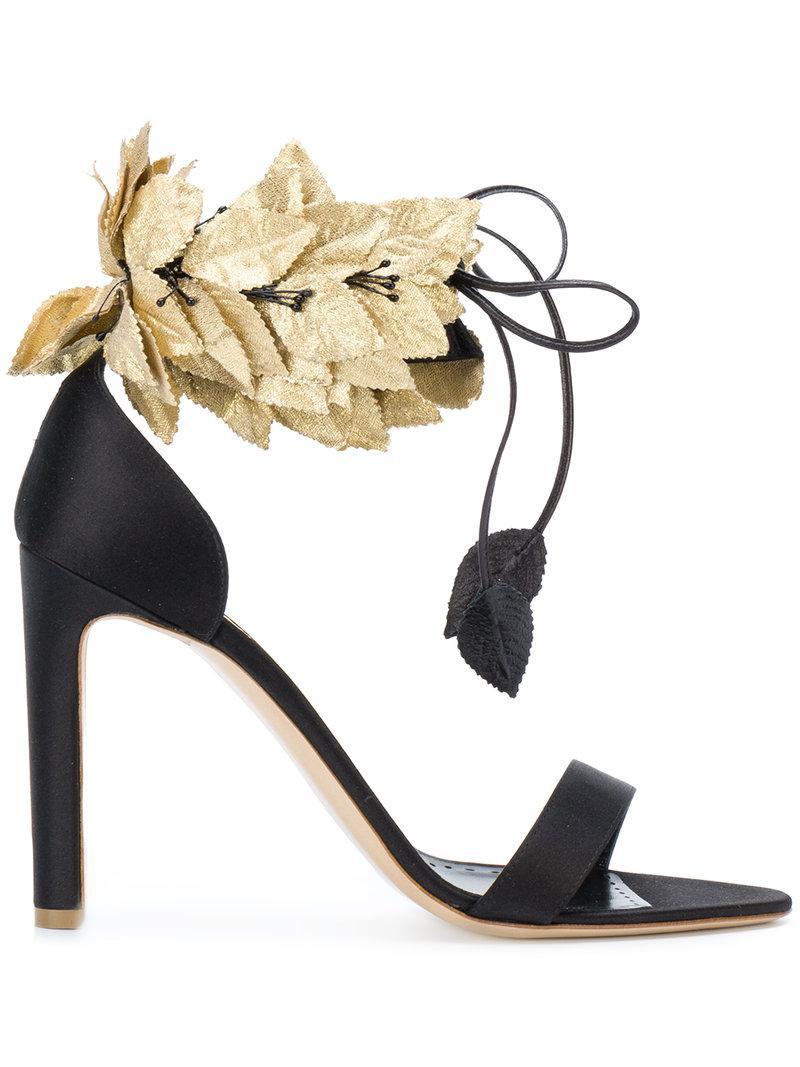 Rupert Sanderson Leafy ankle strap sandals nCGaRb
