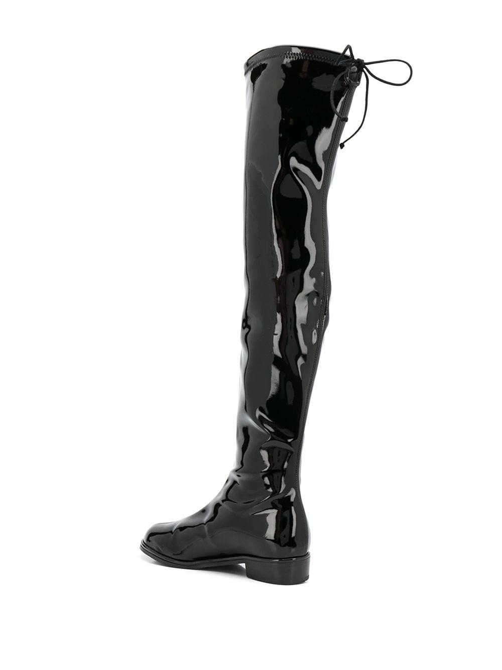 Botas Lowland Stuart Weitzman de Tejido sintético de color Negro