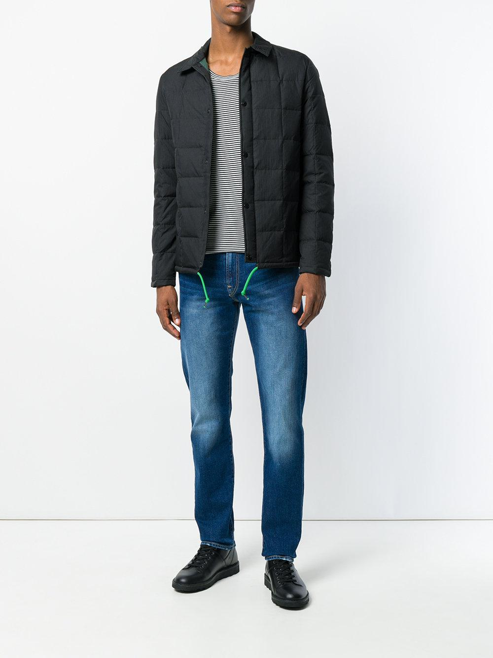 PS by Paul Smith Synthetic Down-filled Coach Jacket in Black for Men