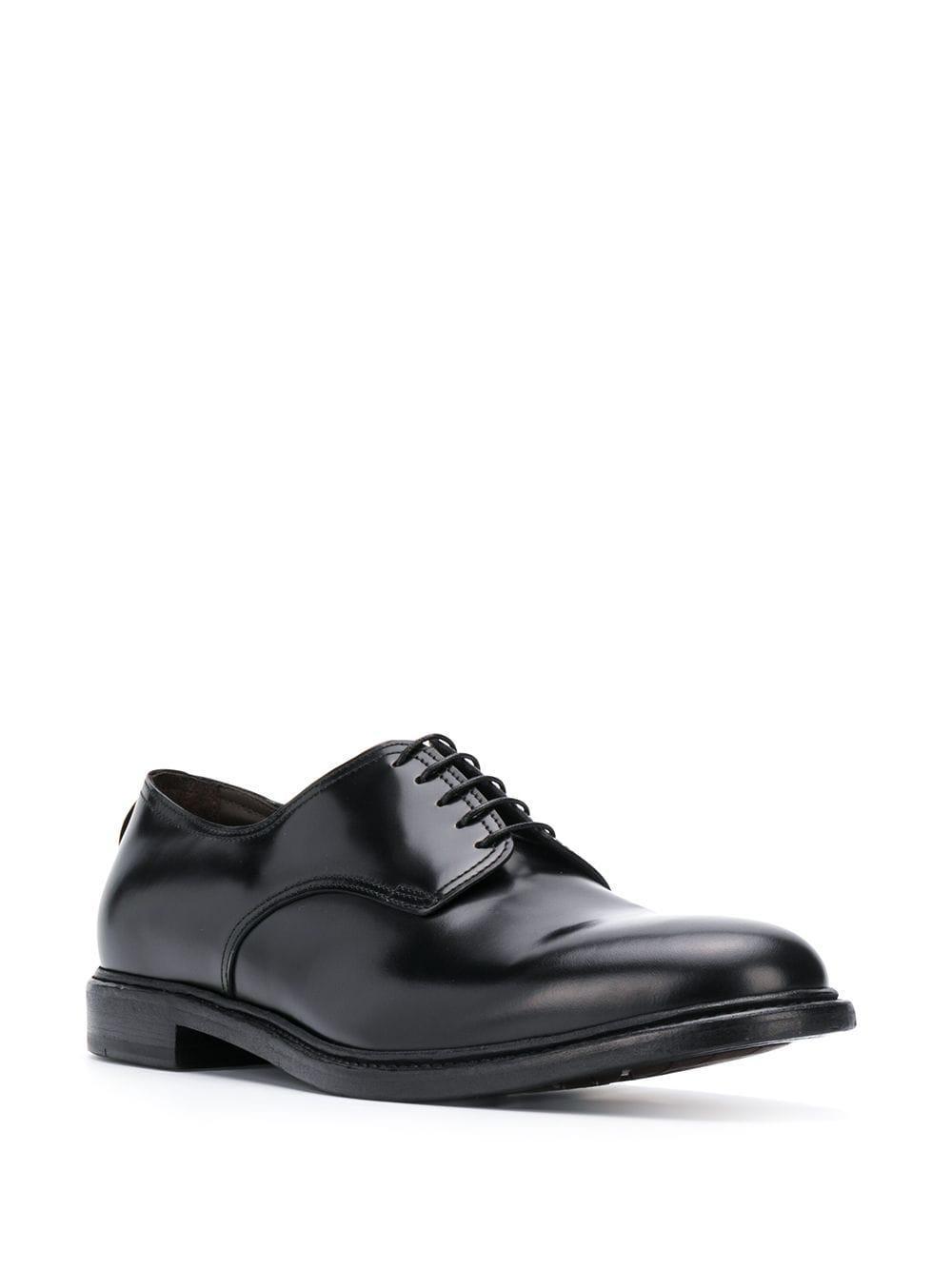 Zapatos derby Dell'Oglio de hombre de color Negro