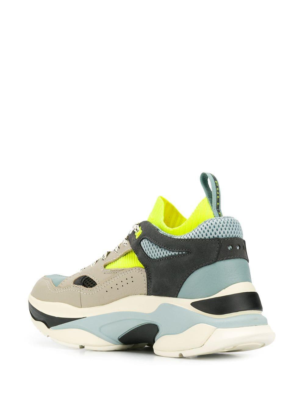 Brandblack Chunky Low-top Sneakers voor heren