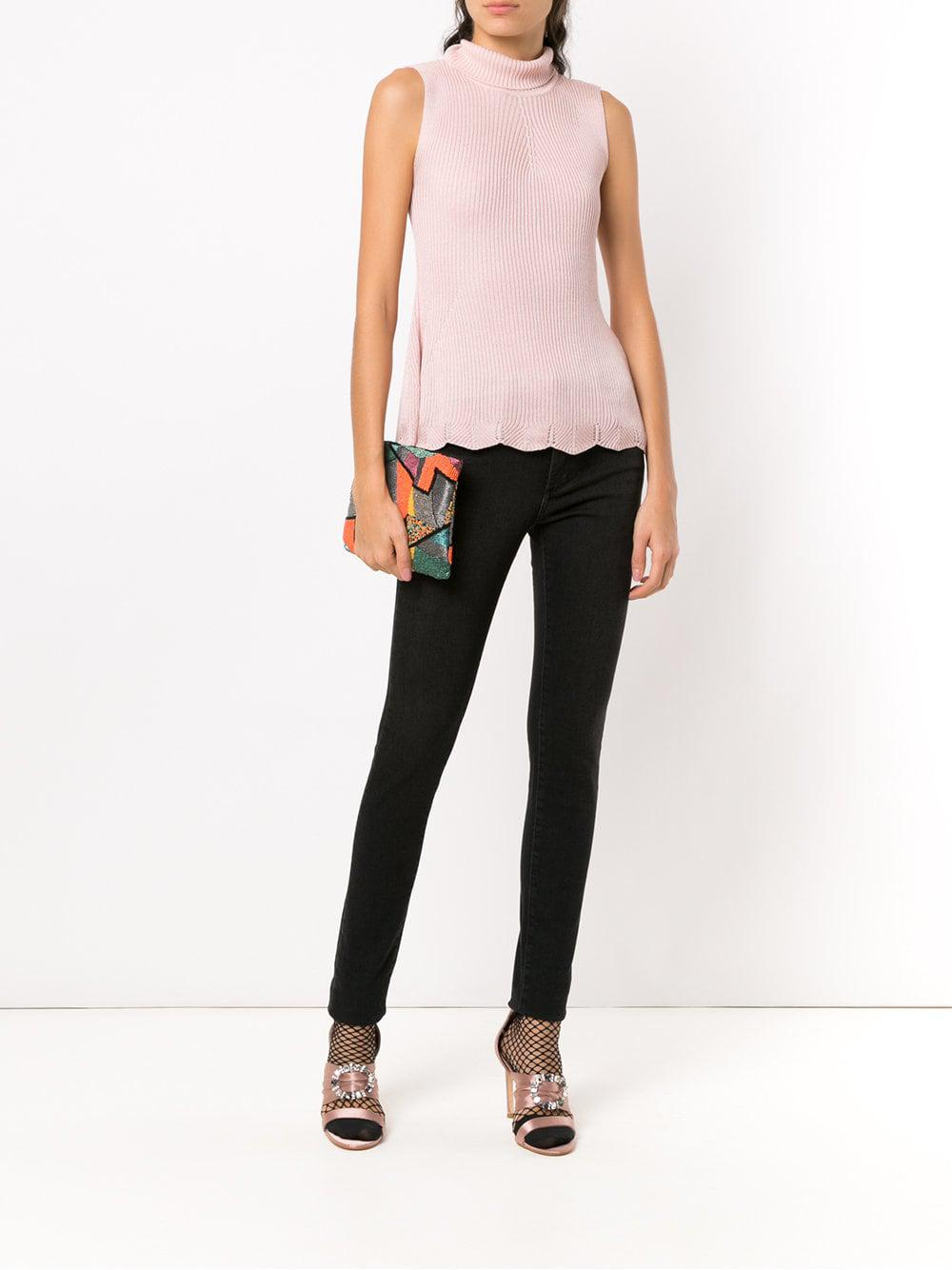 Cecilia Prado Synthetic Lucena Knit Blouse in Pink