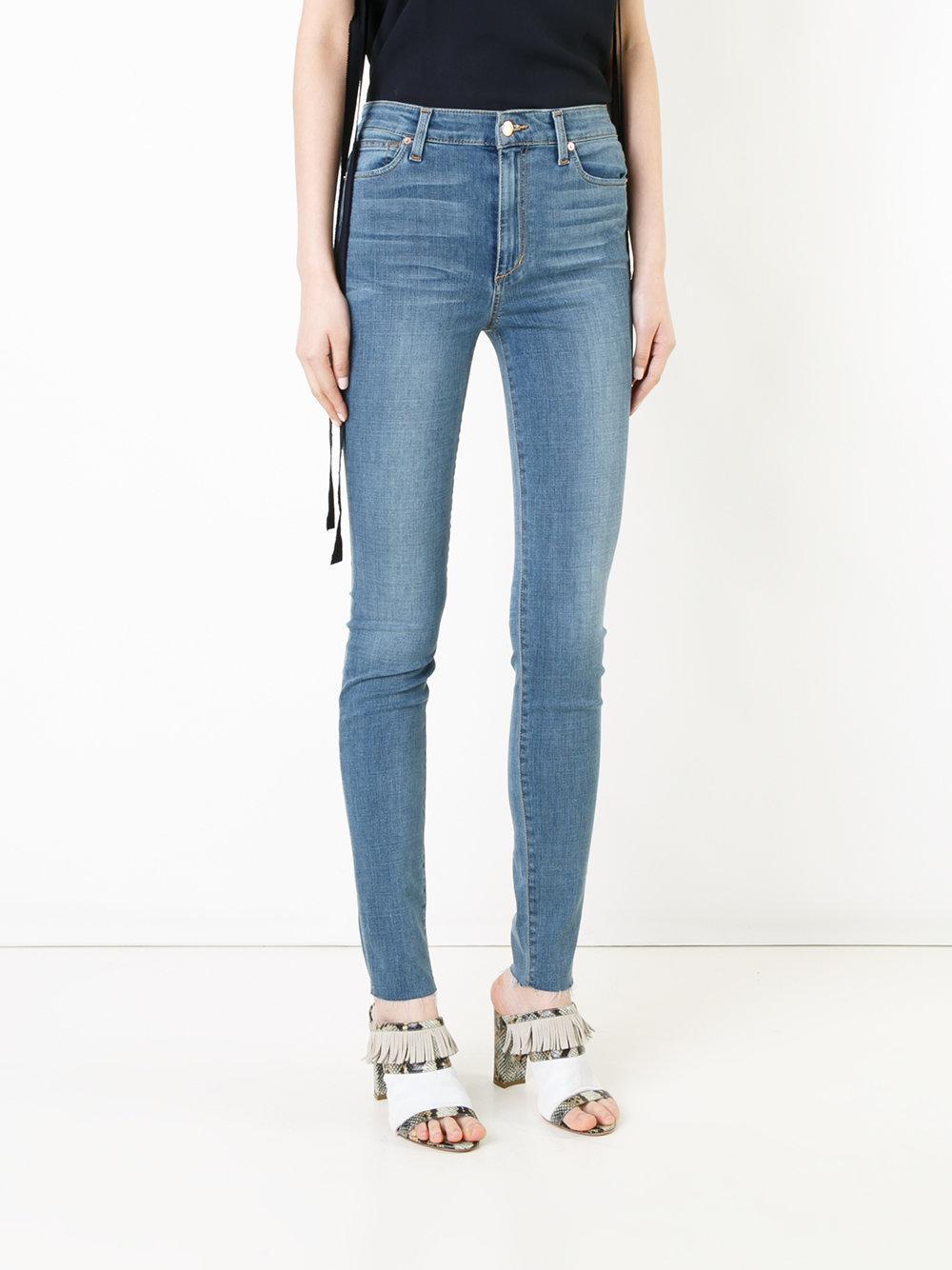 Joe's Jeans Denim Stonewashed Skinny Jeans in Blue