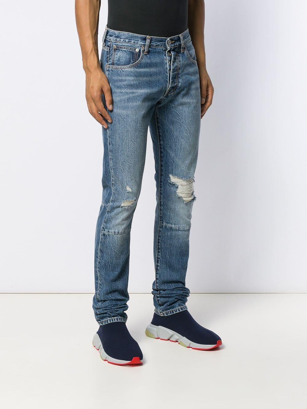 Unravel Project 'Chaos' Jeans in Blau für Herren 2cVvG