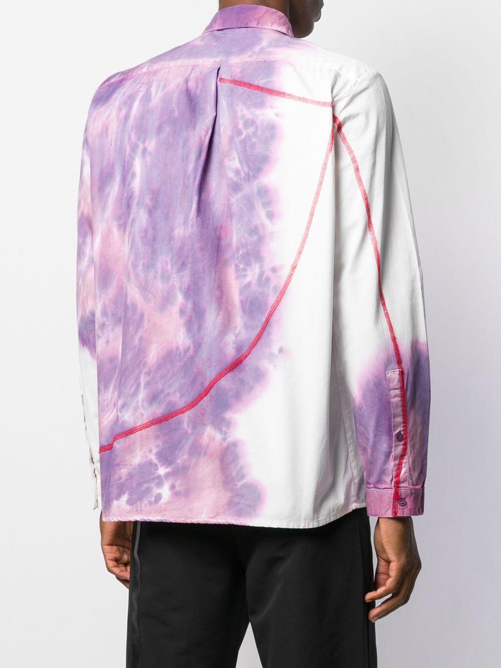 A_COLD_WALL* Katoen Overhemd Met Print in het Paars voor heren
