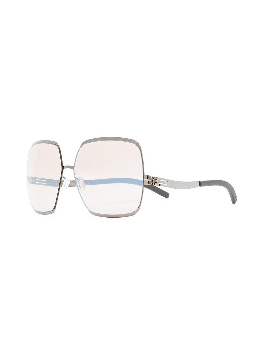 Ic! Berlin Angelina Sunglasses in Grey (Grey)