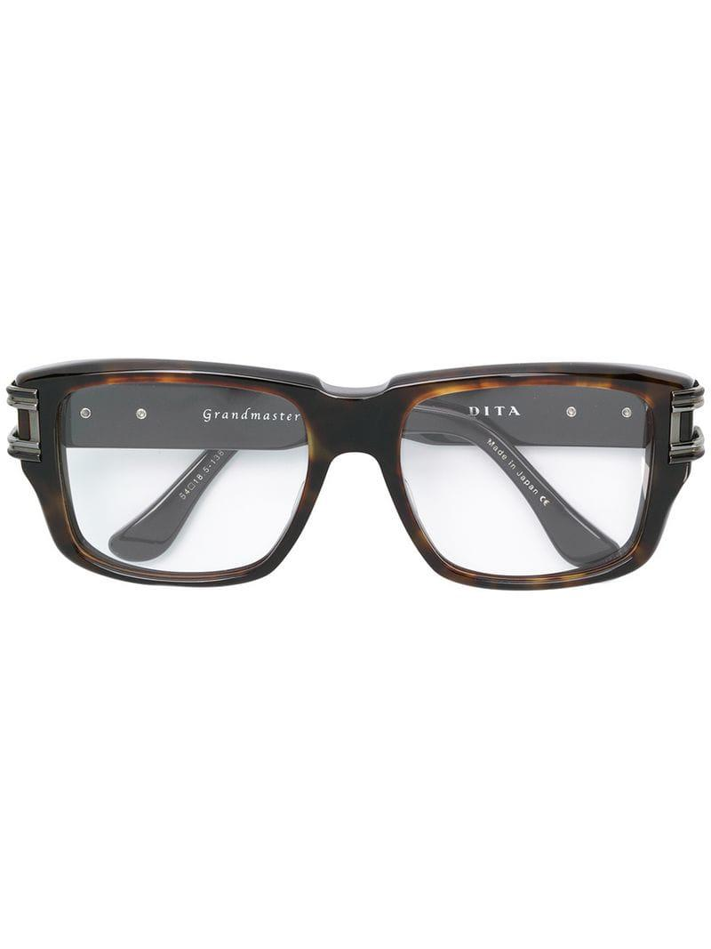 cdf92fa99f10 Dita Eyewear Grandmaster Two Glasses in Brown - Lyst
